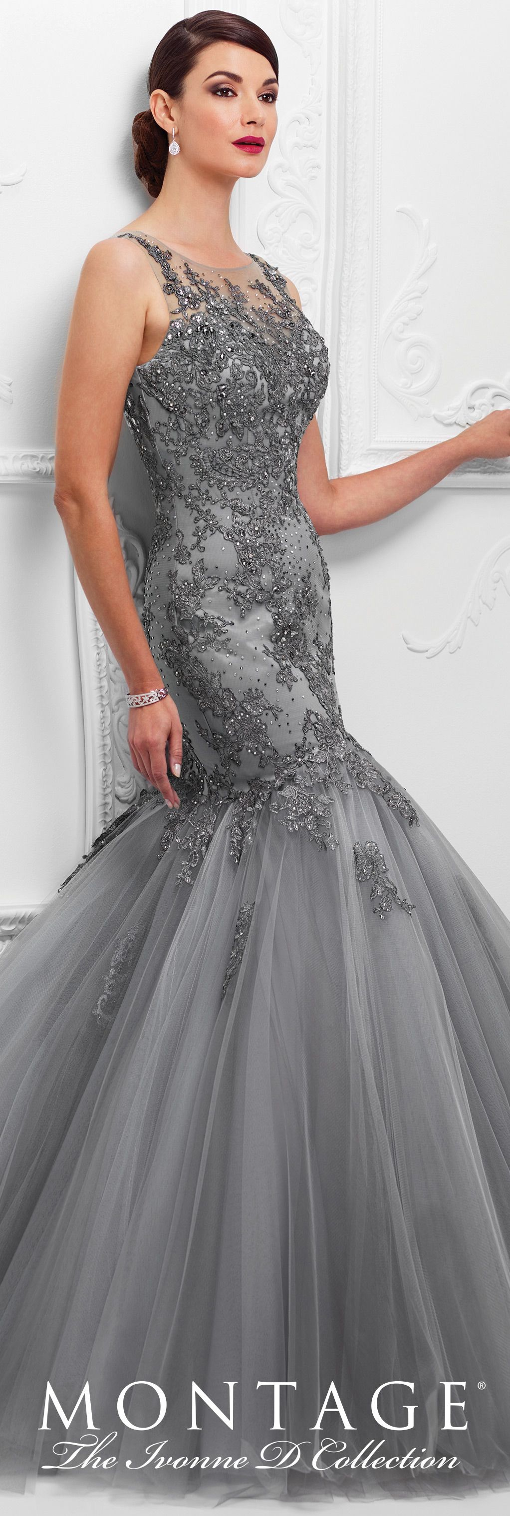 117D74 | Mermaid evening dresses, Formal evening gowns and Mermaid