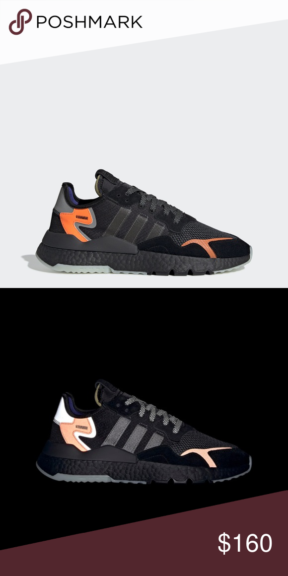 55269d8a Adidas Nite Jogger Size 11 NWT and Box Brand new in box with tags. Style # CG7088  Size 11 Color : Core Black adidas Shoes Sneakers