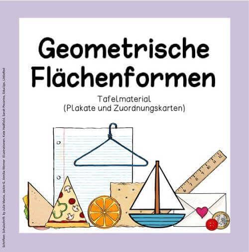Blog     Geometrische Flächenformen (Tafelmaterial)