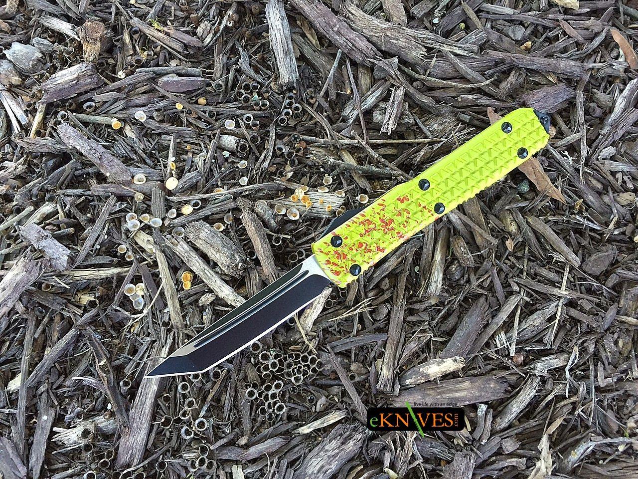 Microtech Ultratech Zombie Tech Tanto Black Blade