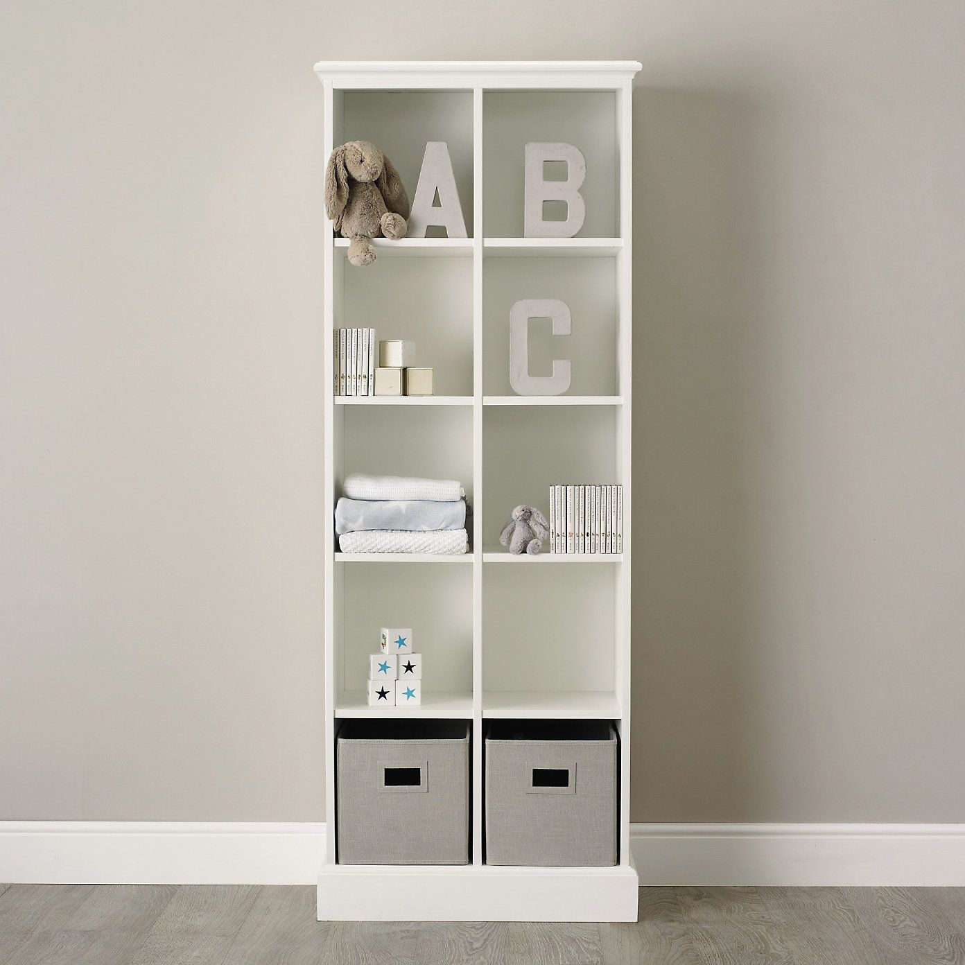 Classic 10 Cube Storage Unit The White Company Cube Storage Cube Storage Unit The White Company