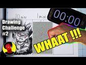 JE PEUX LE FAIRE!! Drawing Challenge 10 minutes, 1 minute, 10 secondes avec Ryuk de Deathnote - YouTube #deathnote #anime #manga - #challenge #d