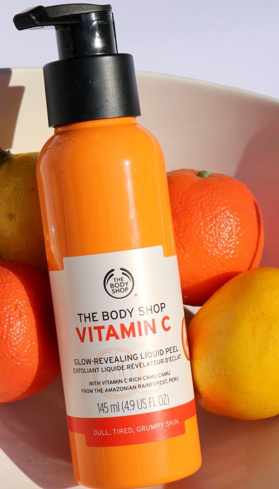 The Body Shop Vitamin C Glow Revealing Liquid Peel www