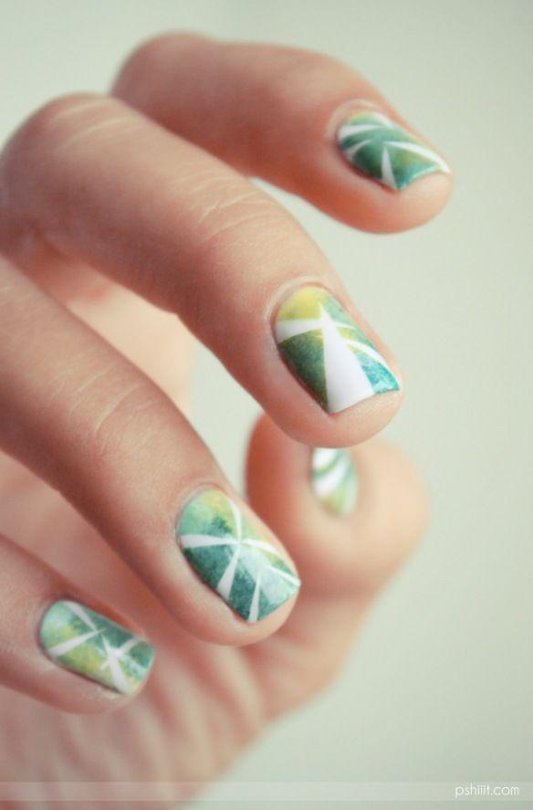Tshirt    nail art