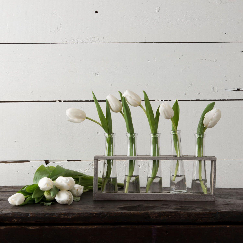 Distressed Vase Holder