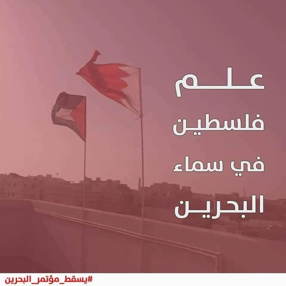 علم فلسطين في سماء البحرين يسقط مؤتمر البحرين Movie Posters Poster Movies