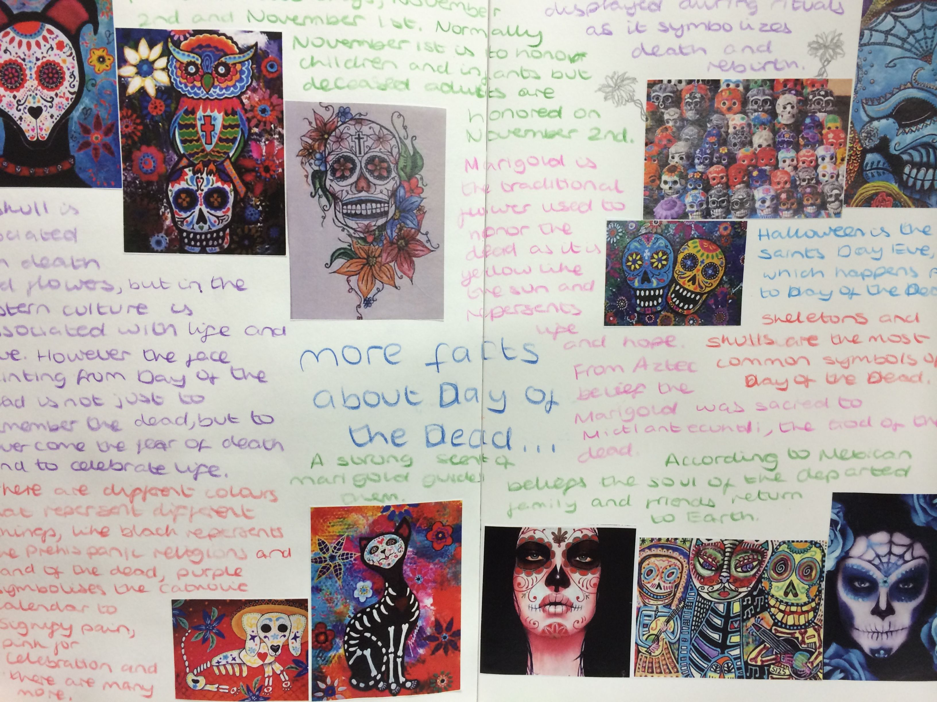 day of the dead research paper