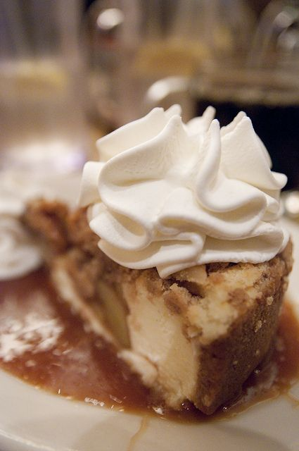 The Cheesecake Factory Dutch Apple Caramel Streusel Recipe Combines Creamy With Tart Apples
