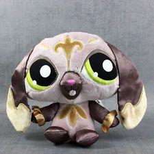 Littlest Pet Shop Sassiest Puppy Plush Lps Stuffed Animal Dog Hasbro Toy Lovey Pet Shop Littlest Pet Shop Turtle Plush