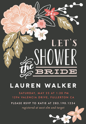 bridal shower invitation ideas httpwwwconfettidaydreamscombridal