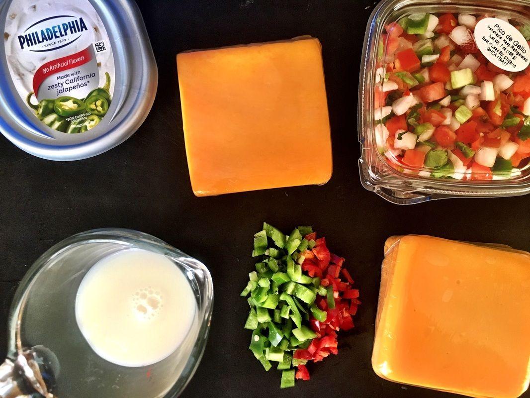 Easy crockpot queso velveeta free velveeta queso