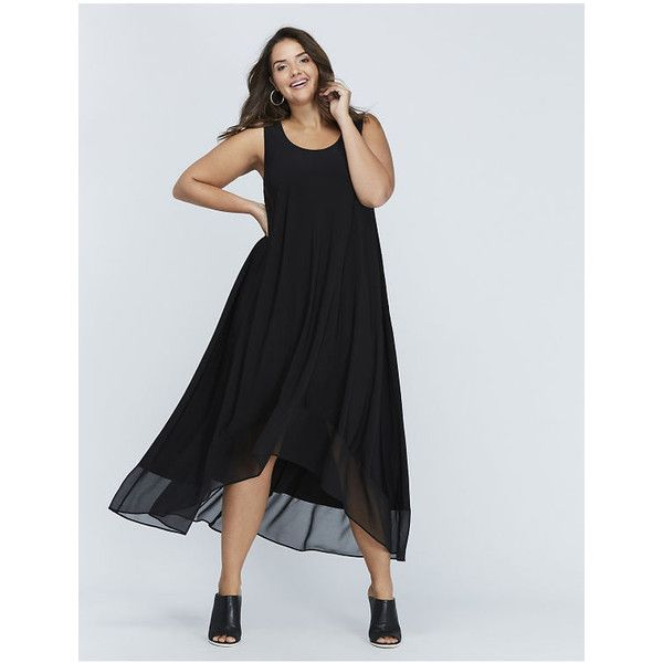 Lane Bryant Plus Size High Low Maxi Dress 5335 Inr Liked On