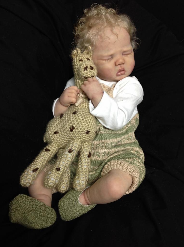 PrototypeTeddy by Sandy Faber reborn baby doll IIORA
