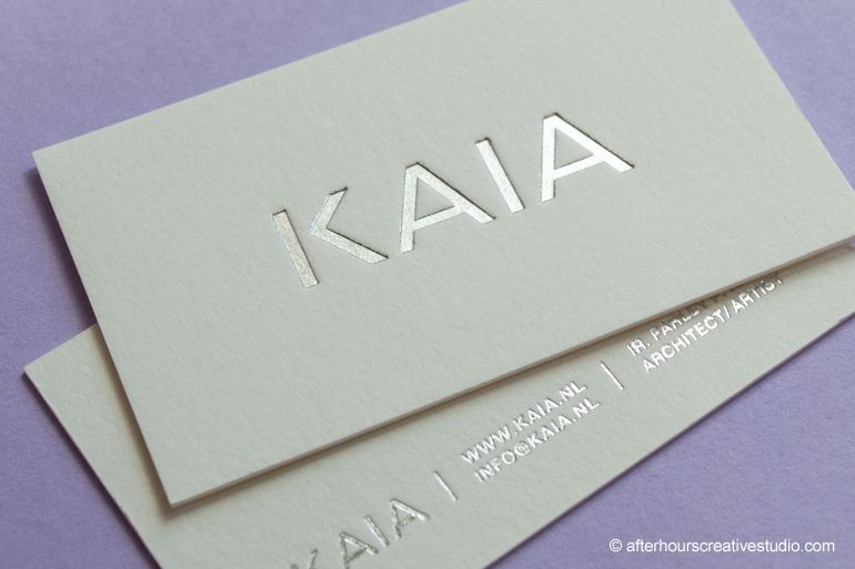 Cotton business cards silver foil blocked business card cotton business cards silver foil blocked business card colourmoves
