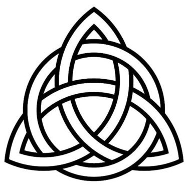 Simple Celtic Knot Tattoo Design | tattos | Celtic tattoos