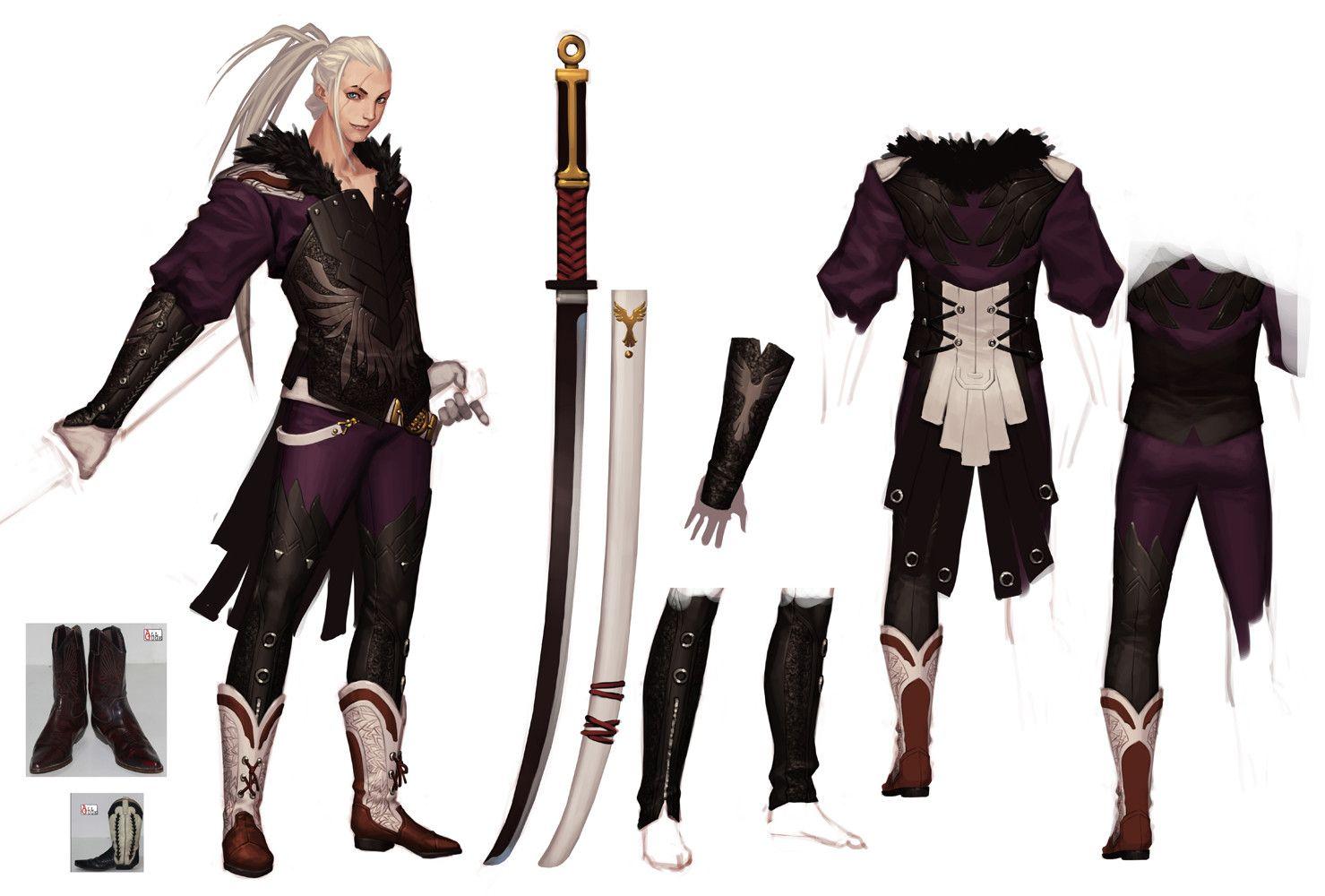 Cyphers Eagle 사이퍼즈 이글 2010 2011 Kang Joo Sung Galgoo Character Design Male Character Modeling Scifi Fantasy Art