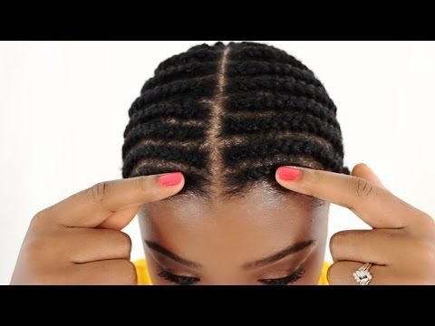Braid Pattern For Lace Closure Sew In Tutorial Part 2 Of 7