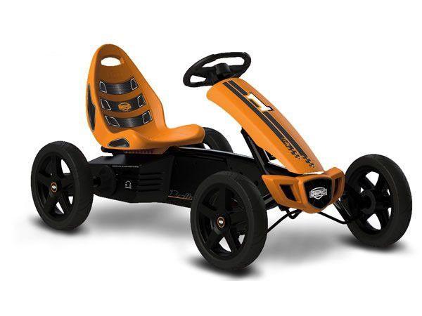 coche a pedales para nios berg toys rally orange en el pas de los juguetes