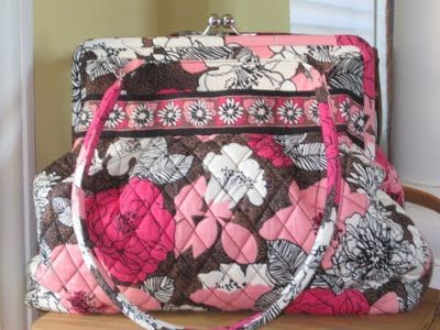 28d063245e0b vera bradley in pink! I wanted this one too and should have gotten ...