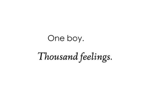Image result for one boy thousand feelings quotes tumblr