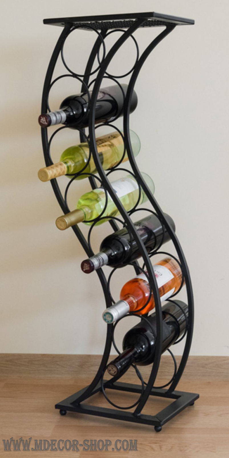 Wine Rack Rainbow Decoracao Metalica Decoracao Da Casa