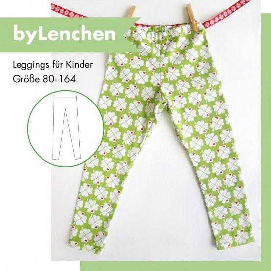 byLenchen – Schnittmuster Leggings Kinder | byGraziela | Nähen ...