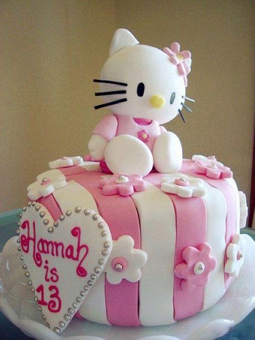Torte di Hello Kitty per Compleanni (60 Foto) | Cakes | Hello