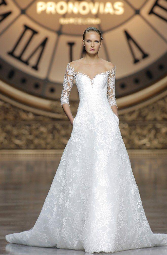 Les Robes De Mariée Pronovias 2016 Des Robes Qui Donnent