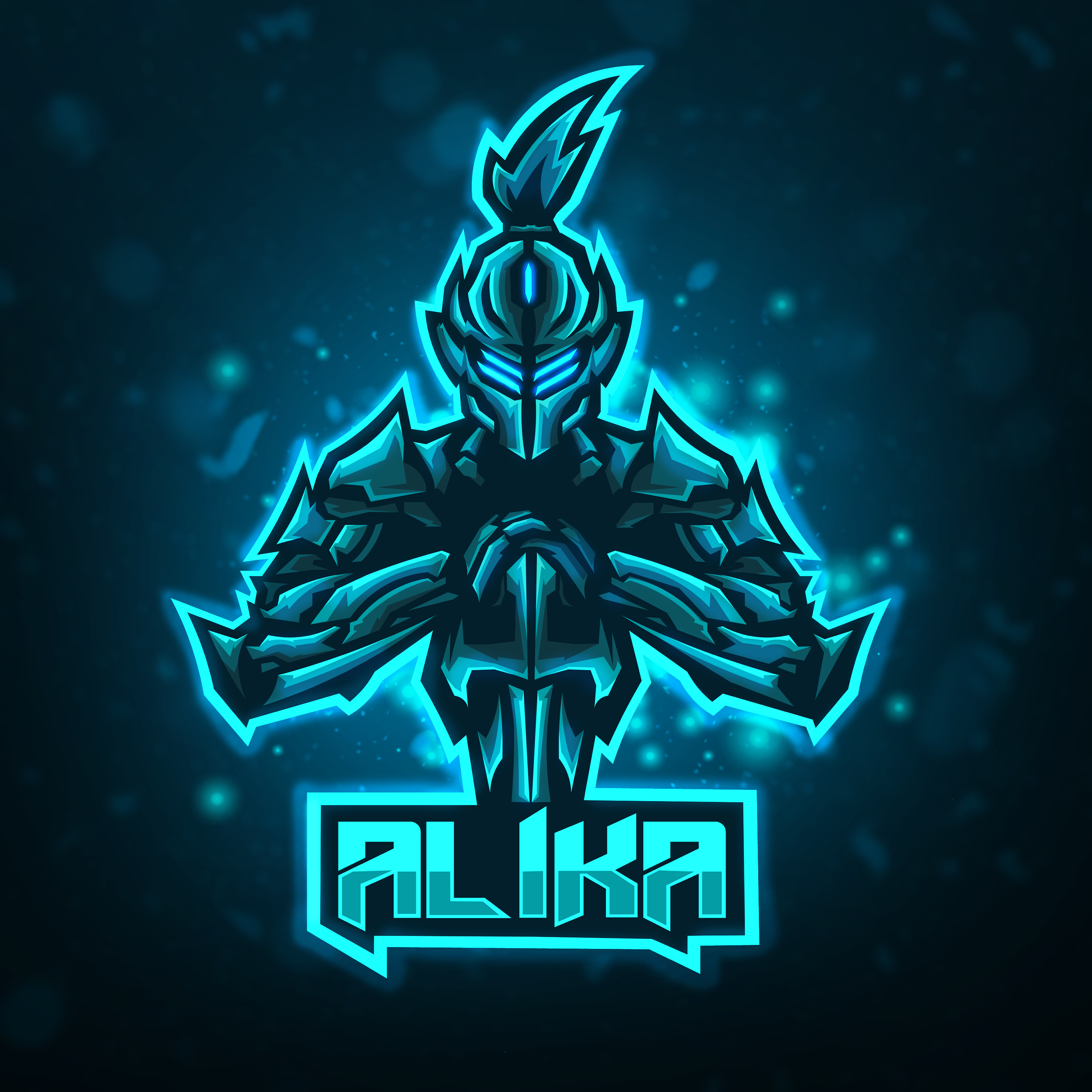 Genji Esports Logo done on Fiverr! Please Click image for