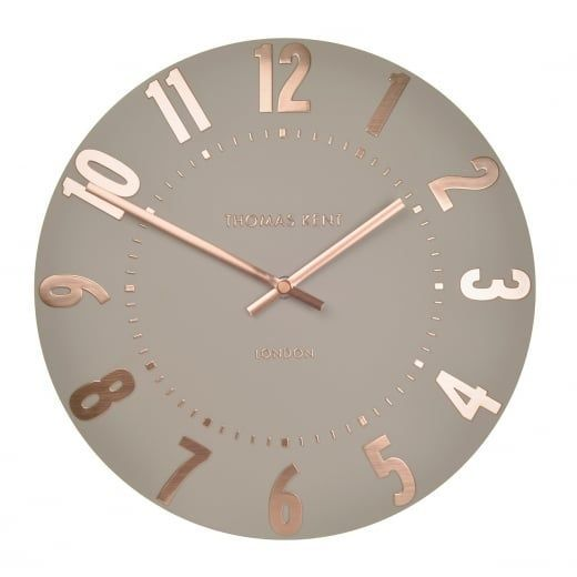 """Mulberry 12"""" Wall Clock - Rose Gold   Gold schlafzimmer ..."""