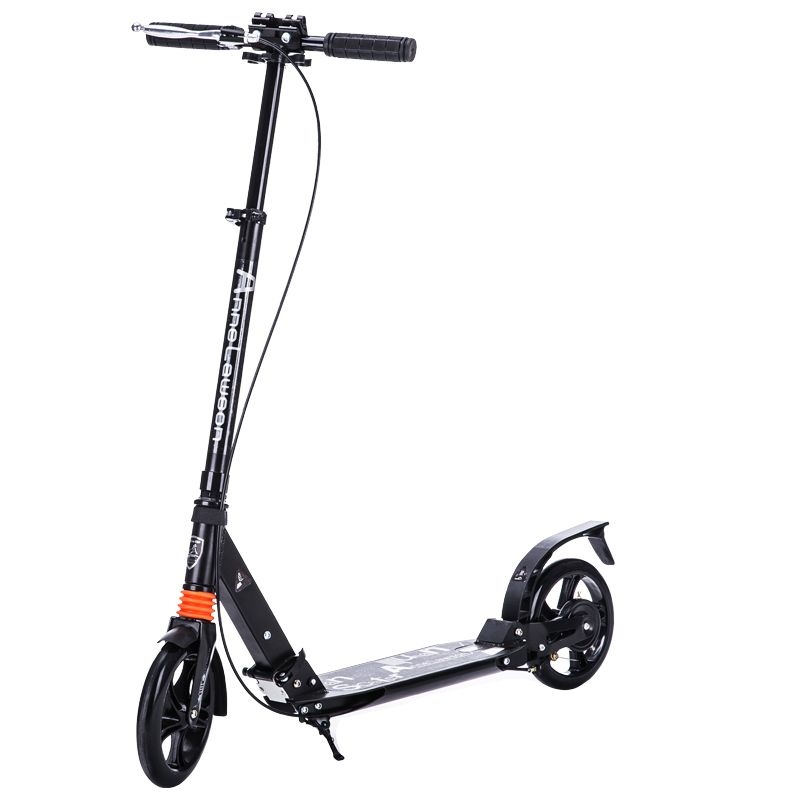 Outdoor Adult folding scooter around 2 double damping