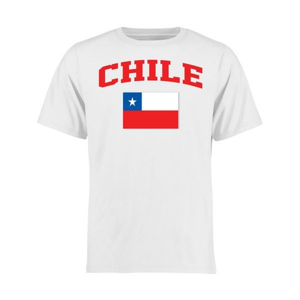 e33aa705b14 Chile Youth Flag T-Shirt - White -  17.99