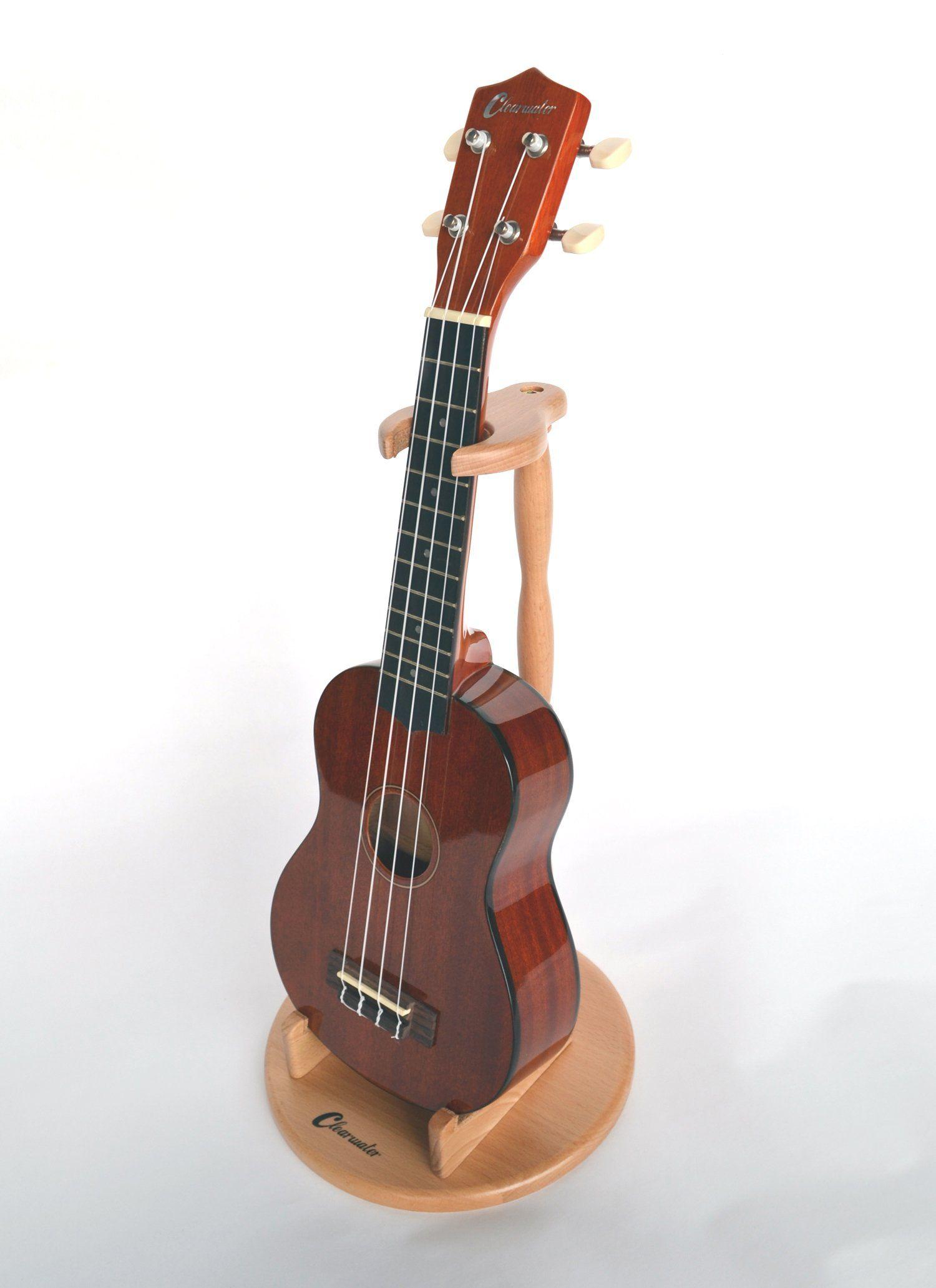 ukulele stand for soprano concert tenor size ukuleles violin and mandolin solid beech. Black Bedroom Furniture Sets. Home Design Ideas