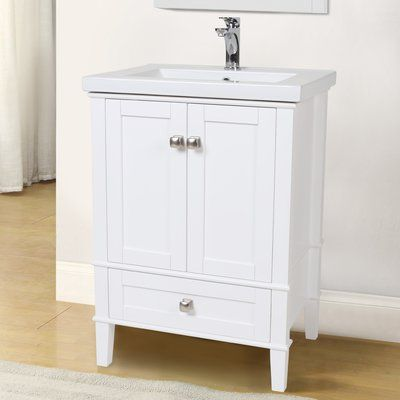 Andover Mills Modena 24 Single Bathroom Vanity Set Single