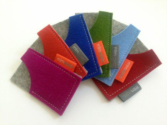 Mini moo card case in pure wool felt business card holder felt mini moo card case in pure wool felt business card holder felt business card reheart Gallery