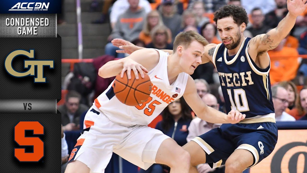 Tech vs. Syracuse Condensed Game ACC Basketball
