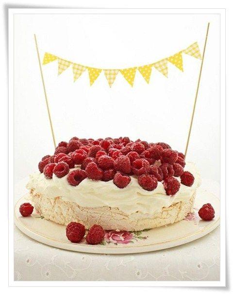 Cmo decorar tartas con guirnaldas Decorar tartas Guirnaldas y Tartas