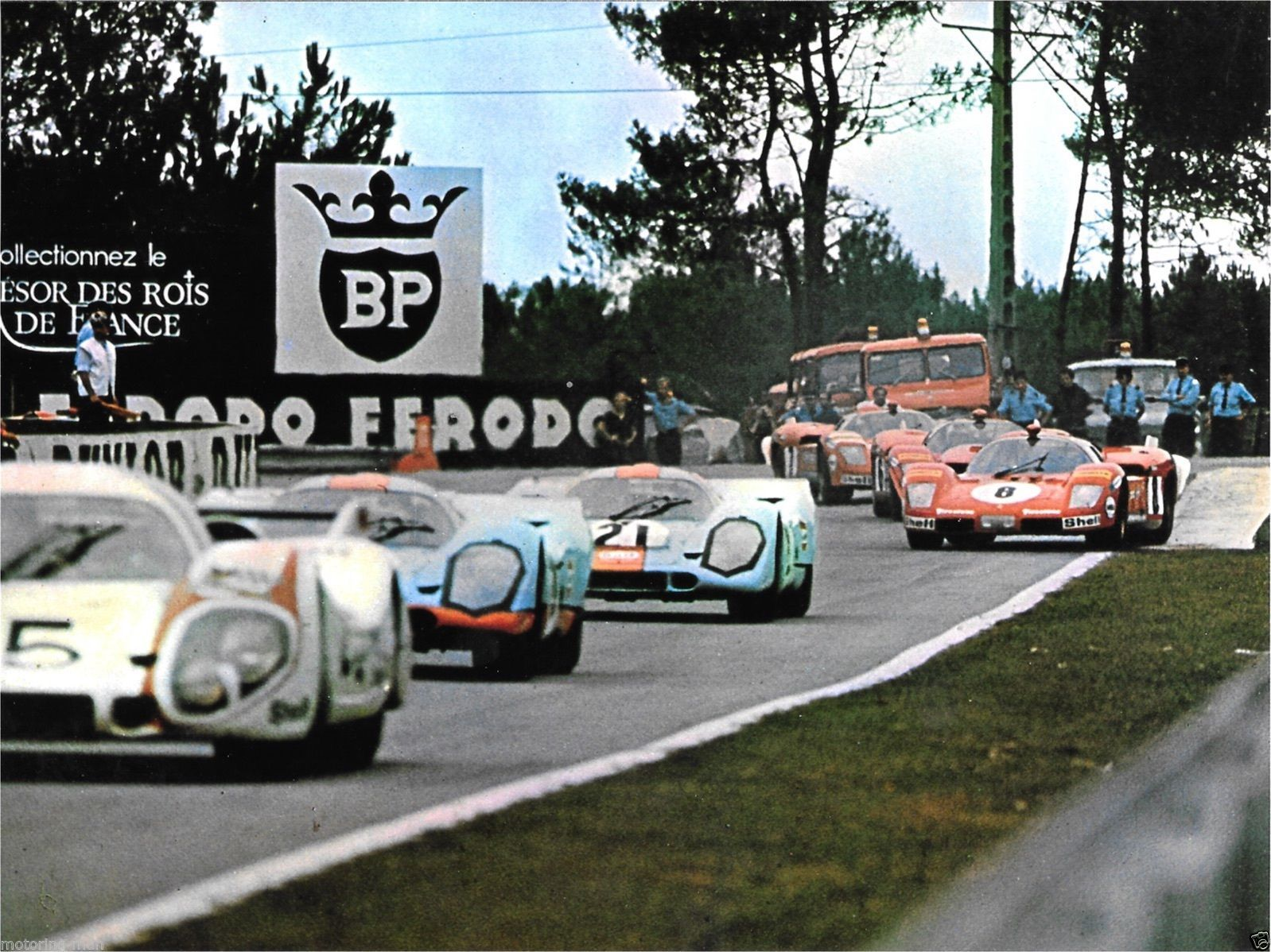 steve mcqueen le mans hours film photograph mike delaney gulf porsche 917 race ebay porsche. Black Bedroom Furniture Sets. Home Design Ideas