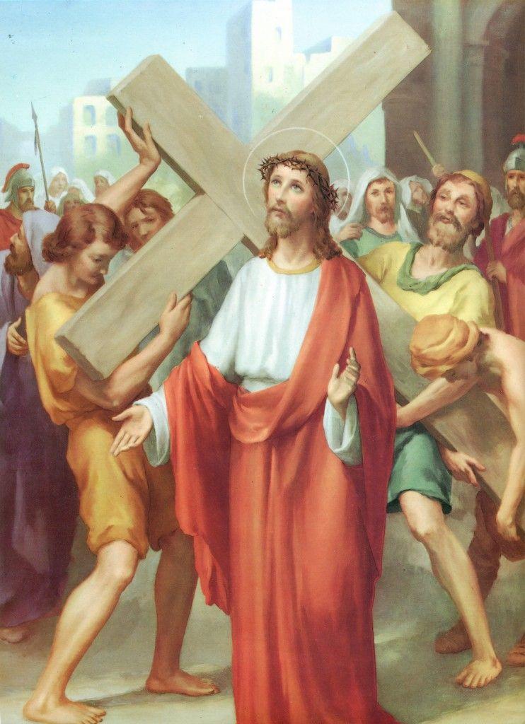 Estacion2_Jesus_cargado_con_la_cruz