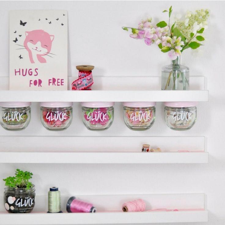 Craft Ideas Empty Jam Jars: Jam Jar Upcycling, DIY Idea With Empty Jam Jars By GLÜCK