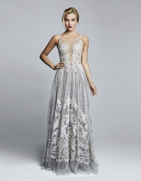 Beautiful wedding dress by Amda al Fahim