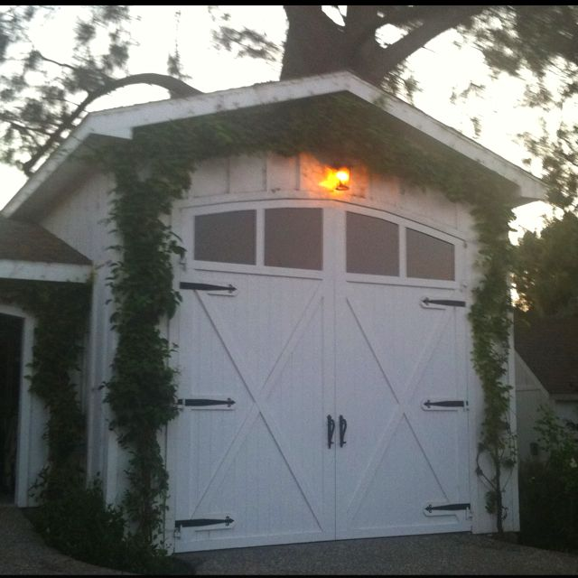 Rv Garage With Living Quarters: Garage Doors, Rv Garage, Garage