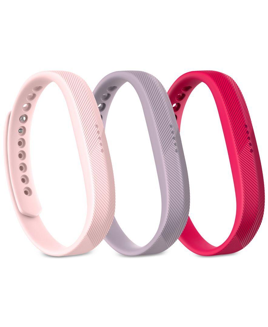 Fitbit Flex 2 Pack of Three Wristbands FB161AB3PKL | Products