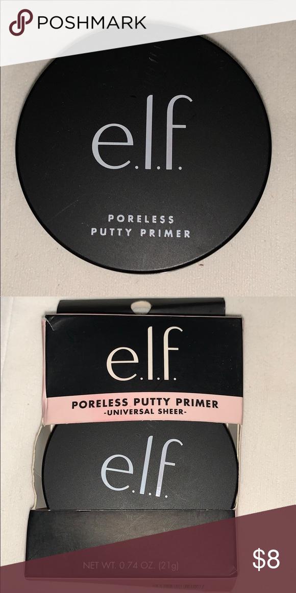 E.L.F. Poreless putty primer NWT (With images) Primer