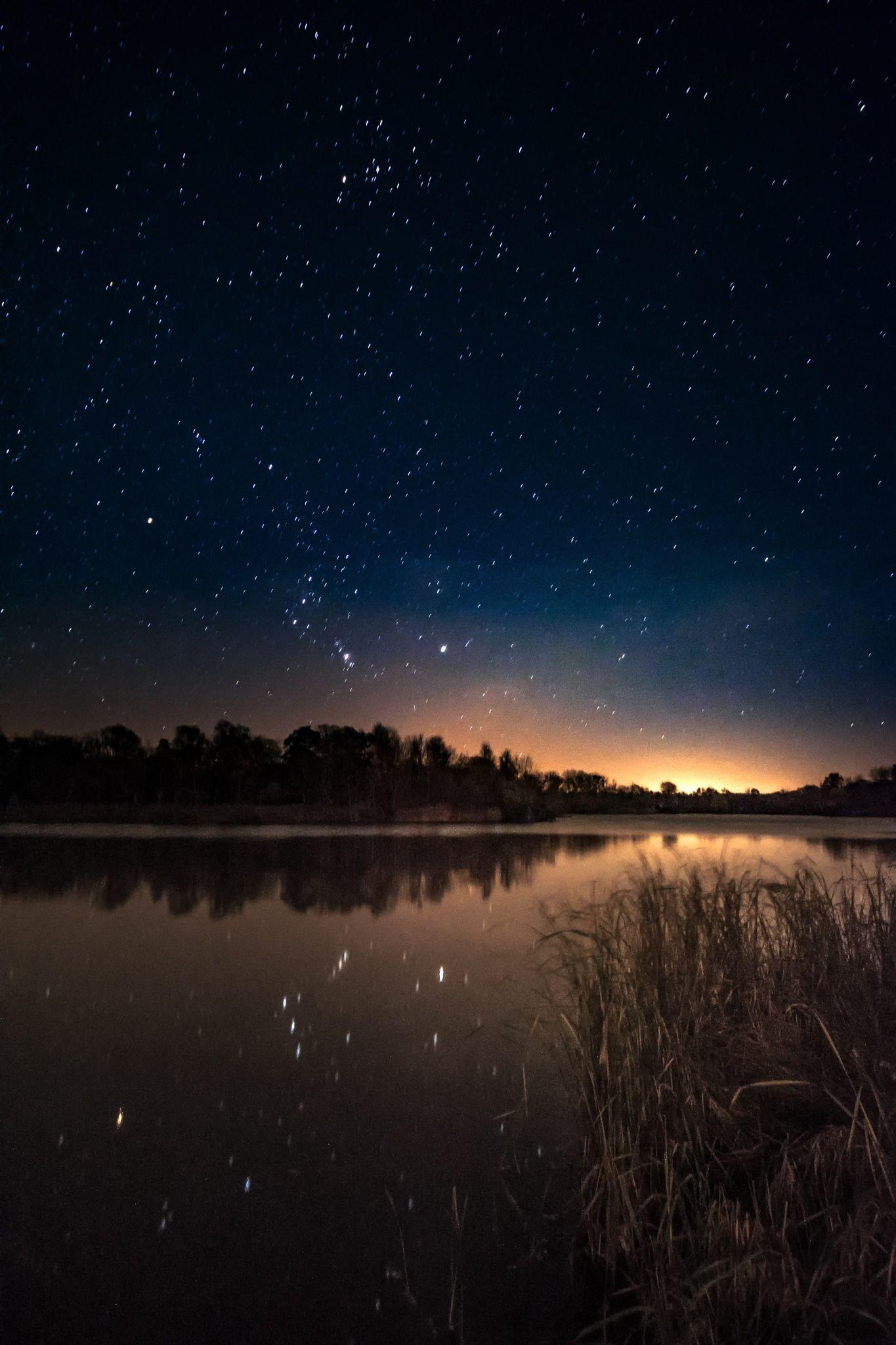 Beautiful Night At See Starry Night Sky Sky Night Skies