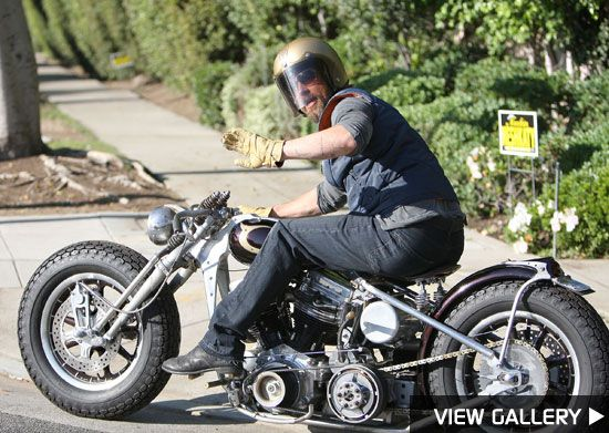Brad Pitt Brad Pitt Motorcycle Brad Pitt Bobber Motorcycle