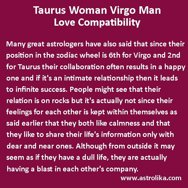 libra man compatibility with taurus woman