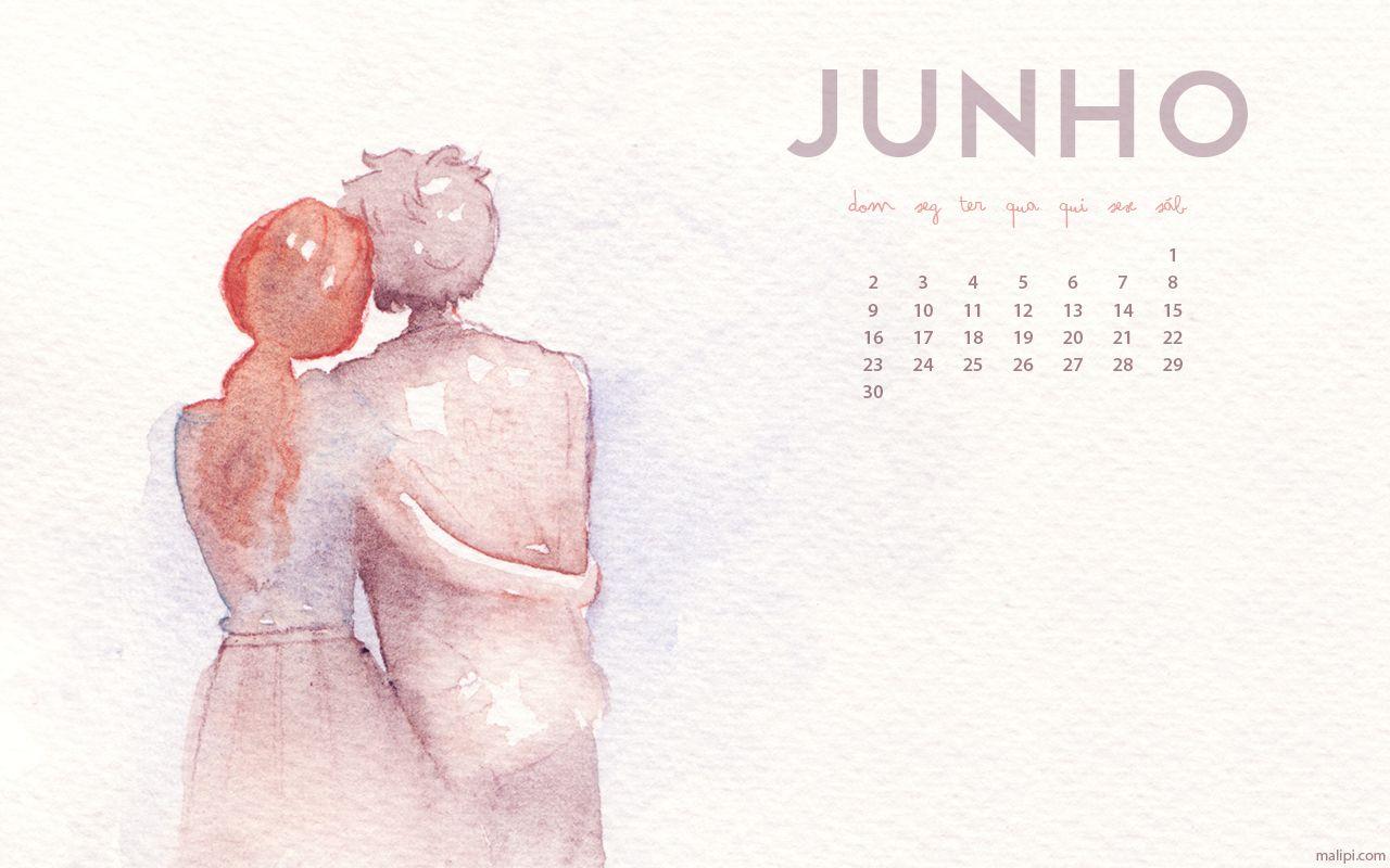 Calendário de Junho de 2013