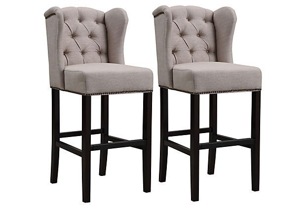 399 Pair One Kings Lane Sold Out Bar Stools