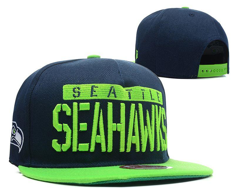 NFL Seattle Seahawks Snapback Hat (31)  76f068311
